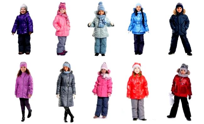 Детские зимние комплекты Шалуны