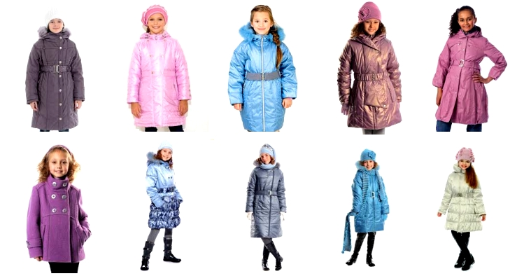 детские зимние пальто шалуны