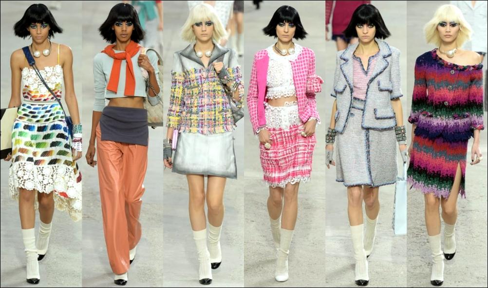 Одежда от Karl Lagerfeld для Chanel