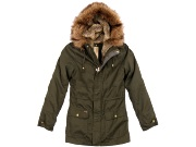 женская куртка bershka