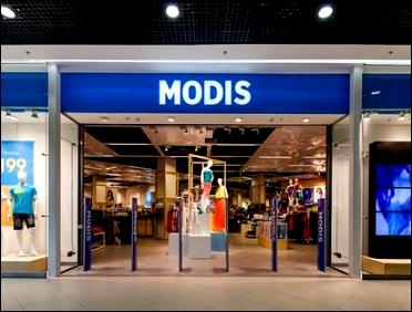 modis магазин