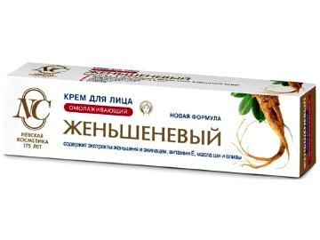 Женьшеневый крем для лица Невская косметика