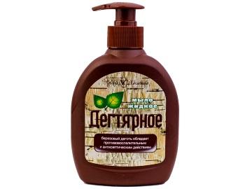 Жидкое дегтярное мыло Невская косметика
