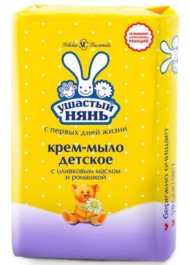 """Крем-мыло Невская Косметика """"Ушастый нянь"""" с оливковым маслом и ромашкой"""