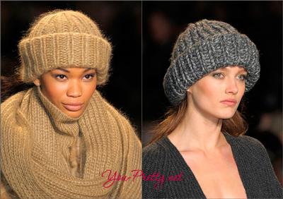 подобрать вязаную шапку